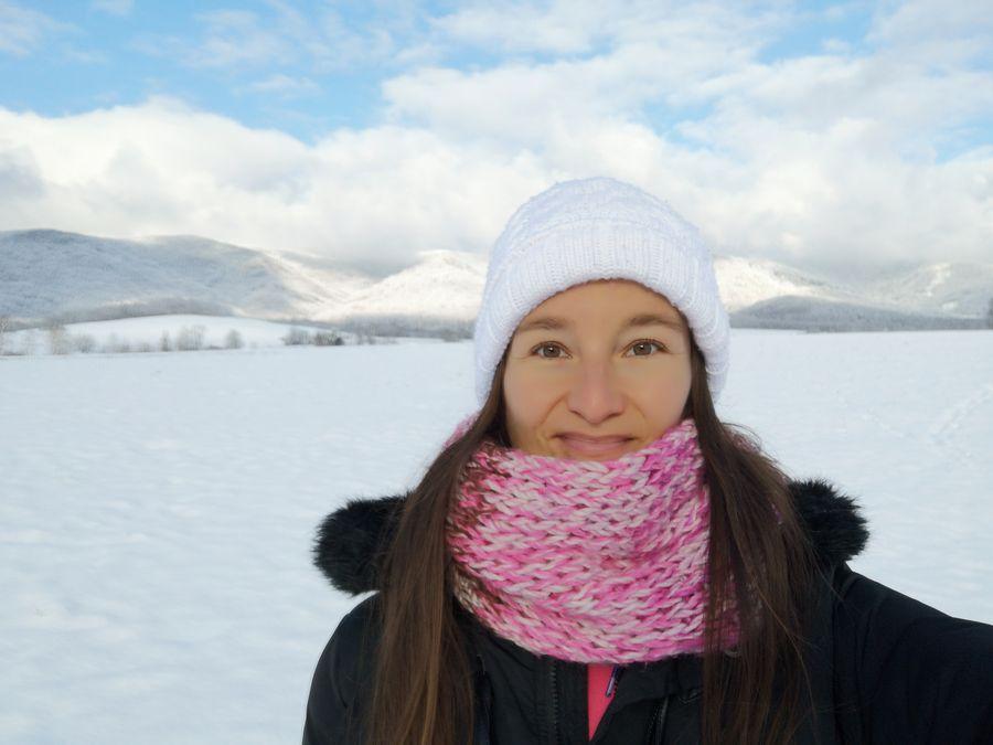 zimna turistika Poloniny