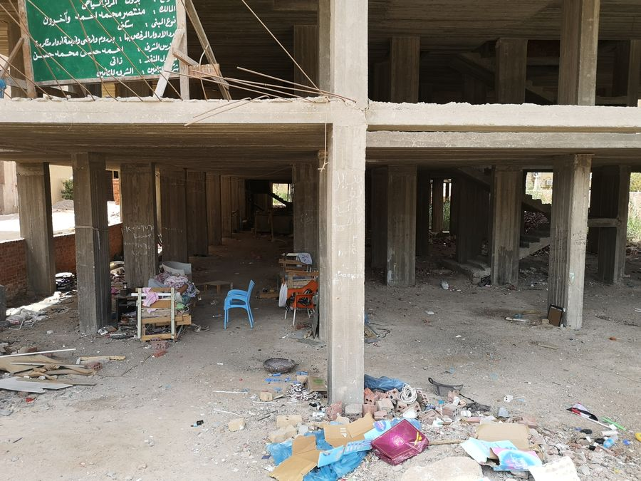 nevyhody Egypta - vsade vela odpadu