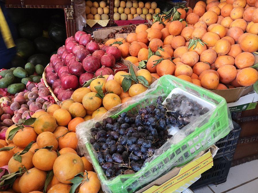 ovocie v obchode, kde ma NEchceli obrat o peniaze