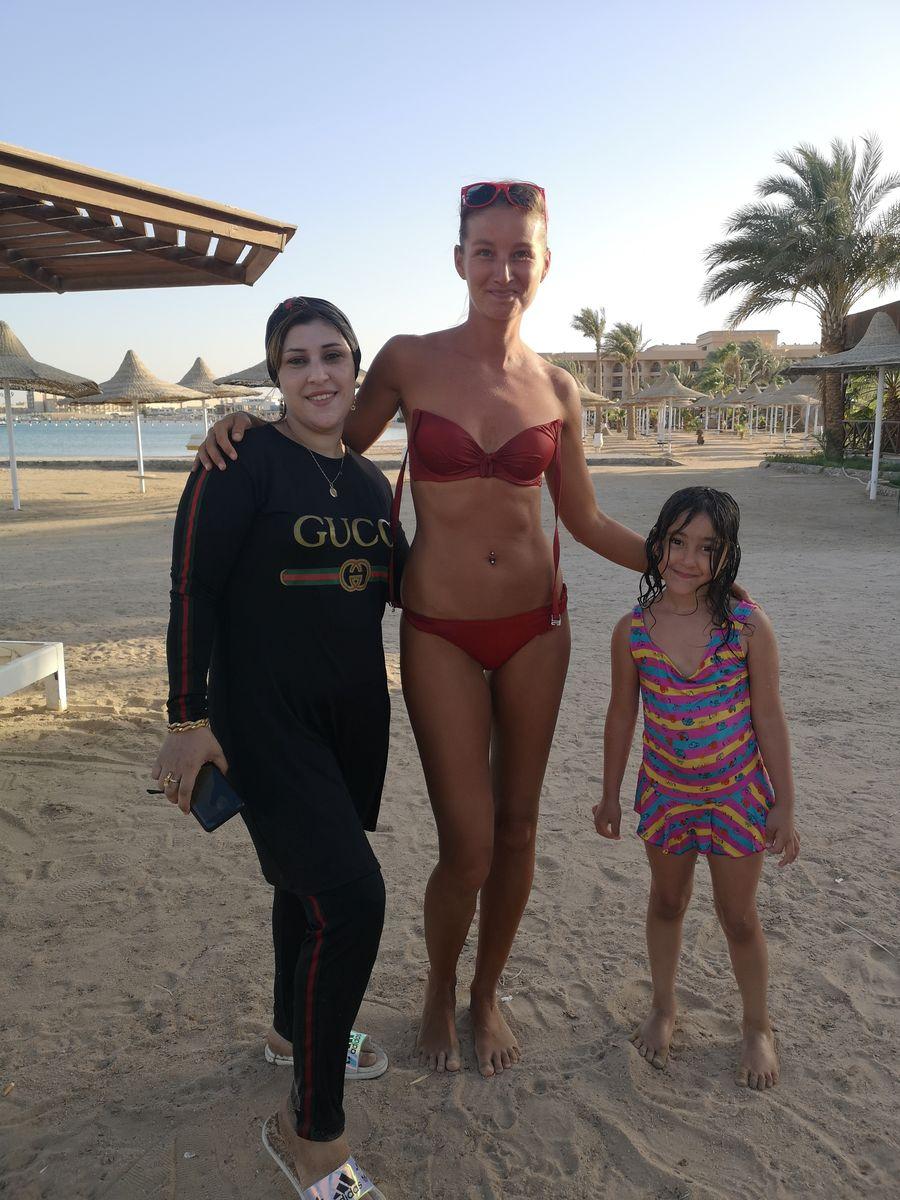 Egyptanka ma oslovila na plazi aby sme sa odfotili