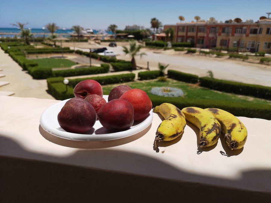 lokalne ovocie v Egypte bolo chutne a lacne