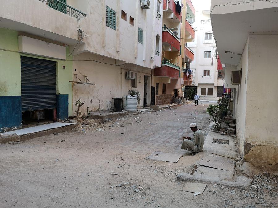 v uliciach Hurghady
