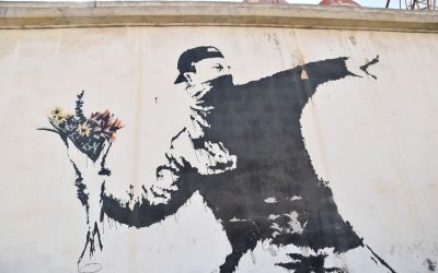Banksy Graffiti Bethlehem West Bank Palestine (135)