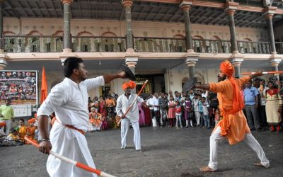 Mardani Khel Martial Arts Things To Do In Kolhapur Deccan Odyssey Luxury Train (60)