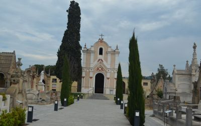 Modernist Cemetery Of Indianos Lloret De Mar (2)