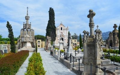 Modernist Cemetery Of Indianos Lloret De Mar (31)