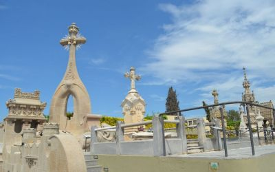 Modernist Cemetery Of Indianos Lloret De Mar (35)