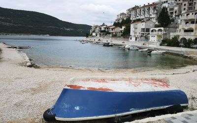 a boat in Neum Bosnia and Herzegovina