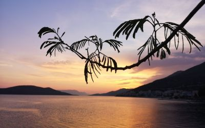 another sunset Neum Bosnia and Herzegovina