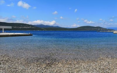 pebble beach Neum Bosnia and Herzegovina
