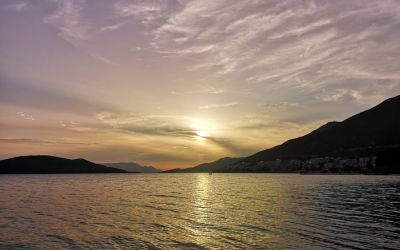 Neum Bosnia and Herzegovina sunset