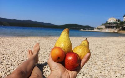 fruit lunch Neum Bosnia and Herzegovina