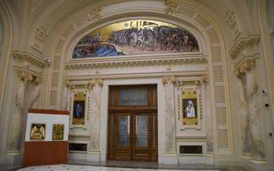Palace Of The Chamber Of Deputies Bucharest (1)