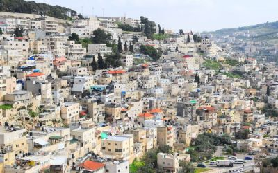 Silwan Arab Neighborhood Seen From City Of David (1)