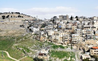 Silwan Arab Neighborhood Seen From City Of David (2)