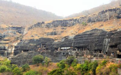 UNESCO Ajanta Caves Deccan Odyssey Luxury Train (15)