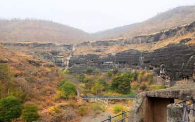 UNESCO Ajanta Caves Deccan Odyssey Luxury Train (2)