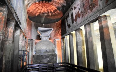 UNESCO Ajanta Caves Deccan Odyssey Luxury Train (30)