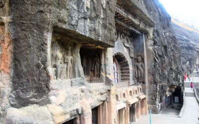 UNESCO Ajanta Caves Deccan Odyssey Luxury Train (34)