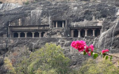 UNESCO Ajanta Caves Deccan Odyssey Luxury Train (37)