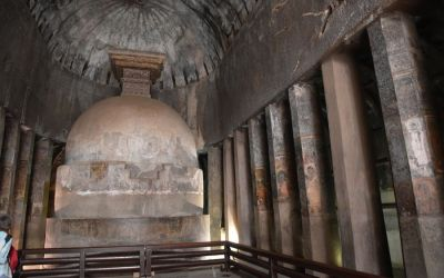 UNESCO Ajanta Caves Deccan Odyssey Luxury Train (40)