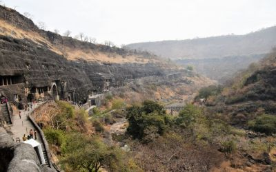 UNESCO Ajanta Caves Deccan Odyssey Luxury Train (45)