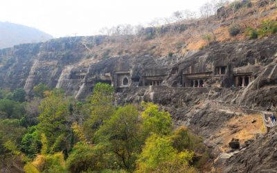 UNESCO Ajanta Caves Deccan Odyssey Luxury Train (46)
