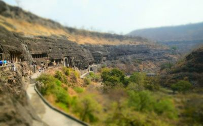 UNESCO Ajanta Caves Deccan Odyssey Luxury Train (55)