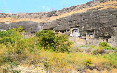UNESCO Ajanta Caves Deccan Odyssey Luxury Train (67)