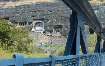UNESCO Ajanta Caves Deccan Odyssey Luxury Train (68)