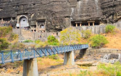 UNESCO Ajanta Caves Deccan Odyssey Luxury Train (70)