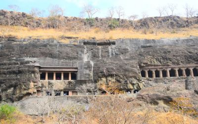 UNESCO Ajanta Caves Deccan Odyssey Luxury Train (71)