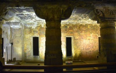 UNESCO Ajanta Caves Deccan Odyssey Luxury Train (9)