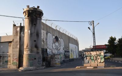 Graffiti Separation Wall Bethlehem West Bank Palestine (36)