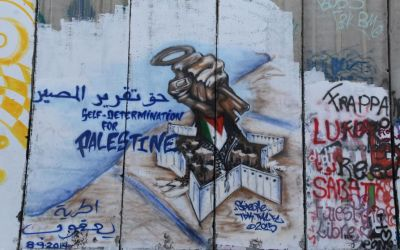 Graffiti Separation Wall Bethlehem West Bank Palestine (42)