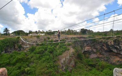 Suspension Bridge And Swinging Jump Rodrigues Island Top Things To Do On Rodrigues Island Mauritius (67)