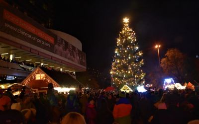 Things To Do In Karlovy Vary Czech Republic Christmas Market And Christmas Tree 170