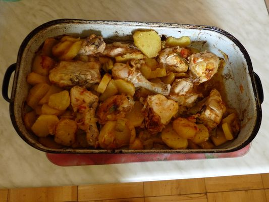 zivanska - traditional Slovak meal