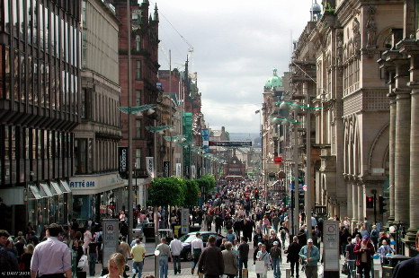 Buchanan Street in Glasgow