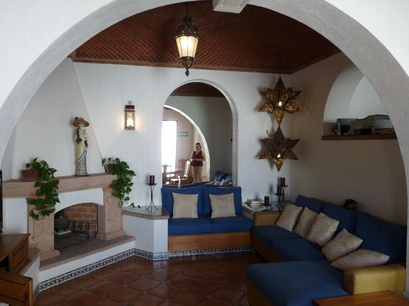 fireplace in Casa Dionisio
