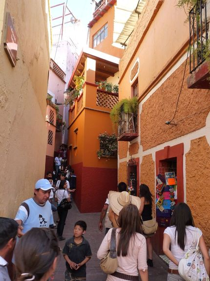 Callejon del beso Guanajuato