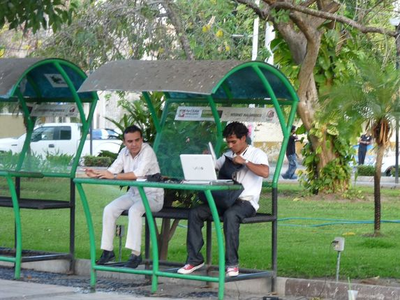 green free internet branches in Colima