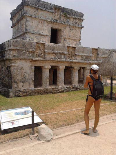 Temple in Tulum
