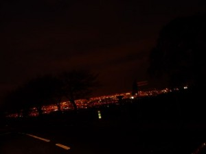 night vies of Dublin, Ireland