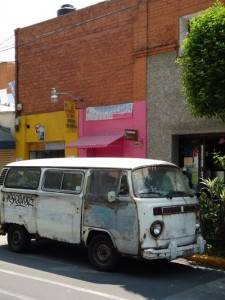 an old VW in Mexico