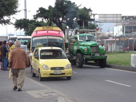 Bogota Vehicles, Bogota, Colombia