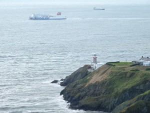 Baily lighthouse, Dublin Bay, Ireland