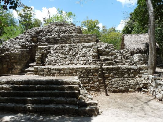 entrance ruins of Coba