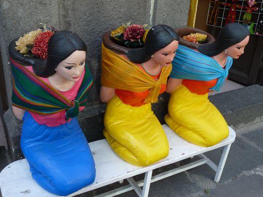 statues, el Parral