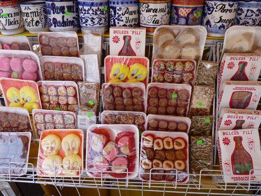 Puebla sweets, el Parral, Mexico